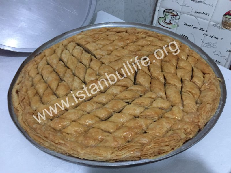 Home Made Baklava Workshop Lesson in Istanbul