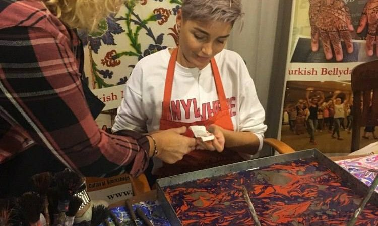 Turkish Marbling Ebru Lessons