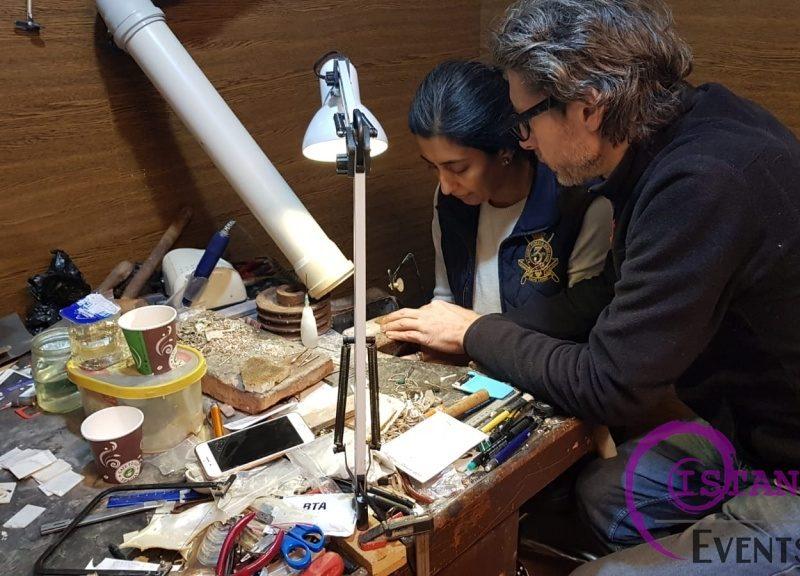 Mother of Pearl Wood Inlay Sedef Art Workshop Istanbul