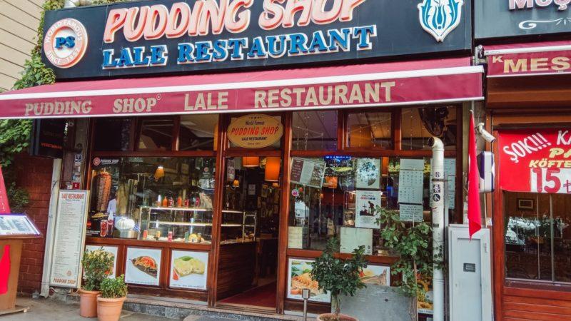 Pudding Shop Lale Restoran Istanbul Sultanahmet