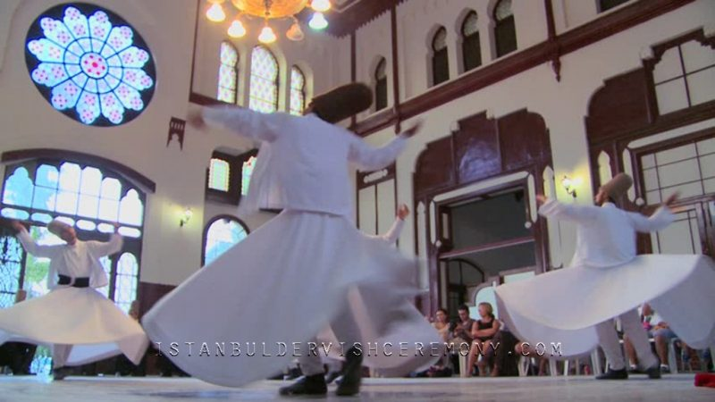 Whirling Dervishes Ceremony Show at Istanbul's Sirkeci Train Station