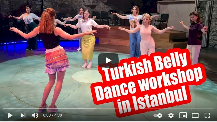 Belly Dance Workshop in Istanbul