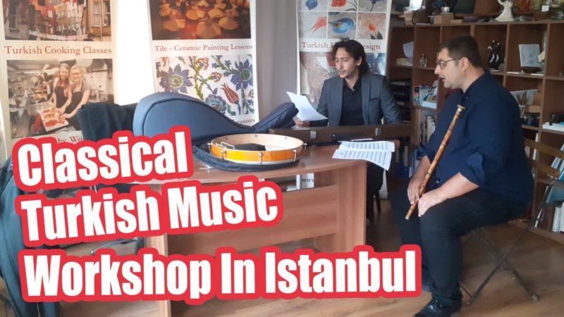 Turkish Musical Instrument Workshops
